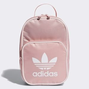 New Adidas Insulated Lunch Bag Pink & White